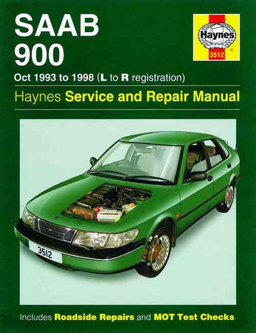 Saab 900 1993 - 1998 Haynes Owners Service & Repair Manual