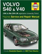 Volvo S40 & V40 (Petrol) 1996 - 2004 Haynes Owners Service & Repair Manual