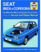 Seat Ibiza & Cordoba (Petrol & Diesel) 1993 - 1999