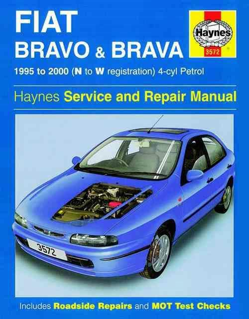 Fiat Bravo and Brava Petrol 1995 - 2000 Haynes Owners Service & Repair Manual - Front Cover