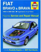 Fiat Bravo and Brava Petrol 1995 - 2000 Haynes Owners Service & Repair Manual