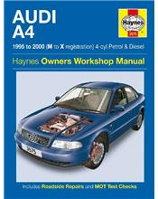 Audi A4 (Petrol & Diesel) 1995 - 2000 Haynes Owners Service & Repair Manual