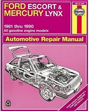 Ford Escort & Mercury Lynx 1981 - 1990 Haynes Owners Service & Repair Manual
