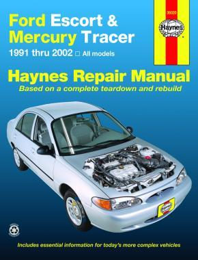 Ford Escort & Mercury Tracer 1991 - 2002 Haynes Owners Service & Repair Manual
