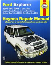 Ford Explorer, Mazda Navajo & Mercury Mountaineer (Petrol) 1991 - 2005