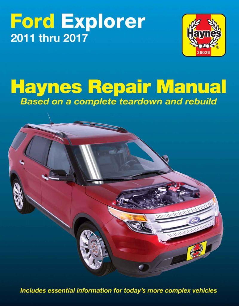 Ford Explorer (Petrol) 2011 - 2017 (USA) Haynes Owners Service & Repair Manual