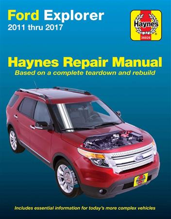 Ford Explorer (Petrol) 2011 - 2017 (USA) Haynes Owners Service & Repair Manual - Front Cover