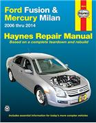 Ford Fusion, Mercury Milan 2006 - 2014 Haynes Owners Service & Repair Manual