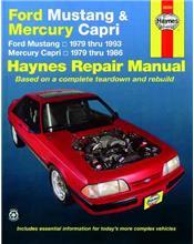 Ford Mustang & Mercury Capri 1979 - 1993 Haynes Owners Service & Repair Manual