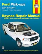 Ford F150 Pick-Ups 2004 - 2014 Haynes Owners Service & Repair Manual - Front Cover