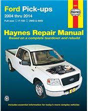 Ford F150 Pick-Ups 2004 - 2014 Haynes Owners Service & Repair Manual