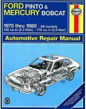 Ford Pinto & Mercury Bobcat 1975 - 1980 Haynes Owners Service & Repair Manual