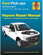 Ford Pick-Ups 2015 - 2017 Haynes Owners Service & Repair Manual