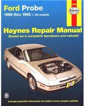 Ford Probe 1989 - 1992 Haynes Owners Service & Repair Manual