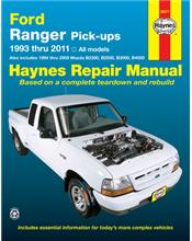 Ford Ranger Pick-ups 1993 - 2011 Haynes Owners Service & Repair Manual