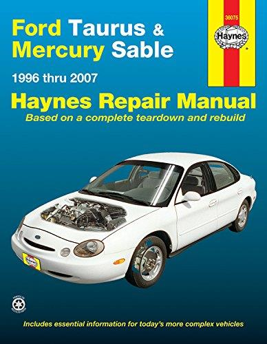 Ford Taurus & Mercury Sable 1996 - 2007 Haynes Owners Service & Repair Manual