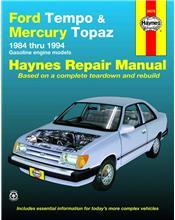 Ford Tempo & Mercury Topaz 1984 - 1994 Haynes Owners Service & Repair Manual