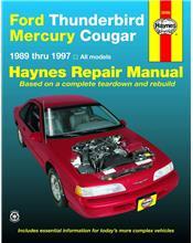 Ford Thunderbird & Mercury Cougar 1989 - 1997