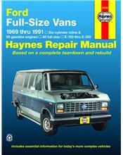 Ford E100-E350 Econoline Full-Size Vans 1969 - 1991