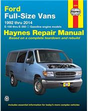 Ford Full size Vans 1992 - 2014 Haynes Owners Service & Repair Manual
