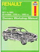 Renault 14 1977 - 1982 Haynes Owners Service & Repair Manual