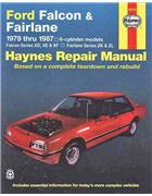 Ford Falcon XD XE & XF (6 cyl) Fairlane Series ZK & ZL 1979 - 1987 - Front Cover