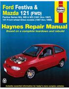 Ford Festiva 1991 - 1997 & Mazda 121 1987 - 1990 Haynes Repair Manual