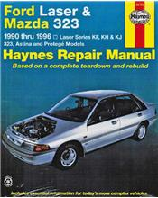 Ford Laser & Mazda 323 (Petrol) 1990 -1996 Haynes Owners Service & Repair Manual