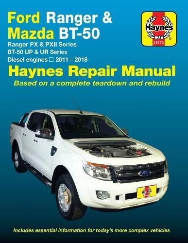 Ford Ranger (PX & PXII) / Mazda BT-50 (UP & UR) Diesel 2011-2018 Repair Manual