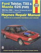 Ford Telstar TX5 & Mazda 626 FWD 1983 - 1990 - Front Cover