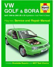 VW Volkswagen Golf & Bora Petrol & Diesel 1998 - 2000