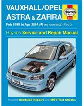 Vauxhall/Opel (Holden) Astra & Zafira 1998 - 2004 Service and Repair Manual