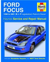 Ford Focus Petrol & Diesel 1998 - 2001 Haynes Owners Service & Repair Manual