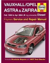 Vauxhall / Opel Astra & Zafira Diesel 1998 - 2004