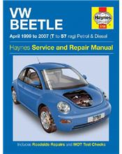 VW Beetle (Petrol & Diesel) 1999 - 2007 Haynes Owners Service & Repair Manual