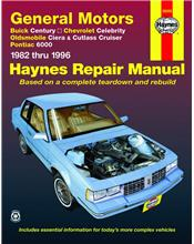 Buick Century 1982 - 1996 Haynes Owners Service & Repair Manual