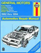 General Motors J-Cars 1982 - 1994 Haynes Owners Service & Repair Manual