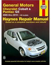 General Motors Chevrolet Cobalt, Pontiac G5 & Pontiac Pursuit 2005 - 2010
