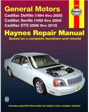 Cadillac Deville, Seville, DTS (Petrol) 1992 - 2010