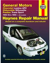 Chevrolet Lumina APV 1990 - 1996 Haynes Owners Service & Repair Manual