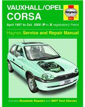 Vauxhall / Opel Corsa (Holden Barina) 1997 - 2000 Haynes Service & Repair Manual