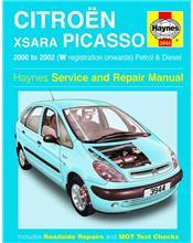 Citroen Xsara Picasso Petrol & Diesel 2000 - 2002