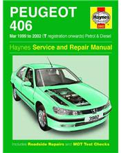 Peugeot 406 (Petrol & Diesel) 1999 - 2002 Haynes Owners Service & Repair Manual