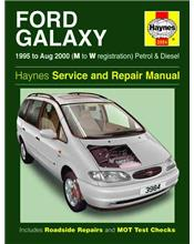 Ford Galaxy Petrol & Diesel 1995 - 2000 Haynes Owners Service & Repair Manual