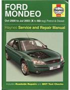 Ford Mondeo Petrol & Diesel 2000 - 2003 Haynes Owners Service & Repair Manual