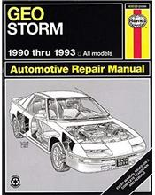 Geo Storm 1990 - 1993 Haynes Owners Service & Repair Manual