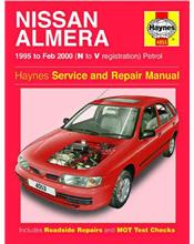 Nissan Almera (Pulsar N15) 1995 - 2000 Haynes Owners Service & Repair Manual