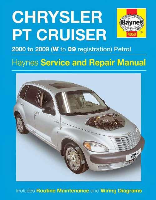 Chrysler PT Cruiser Petrol 2000 - 2009 Haynes Owners Service & Repair Manual