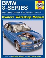 BMW 3 Series (E46) (Petrol) 1998 - 2006 Haynes Owners Service & Repair Manual