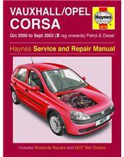 Vauxhall / Opal Corsa (Holden Barina) 2000 - 2003